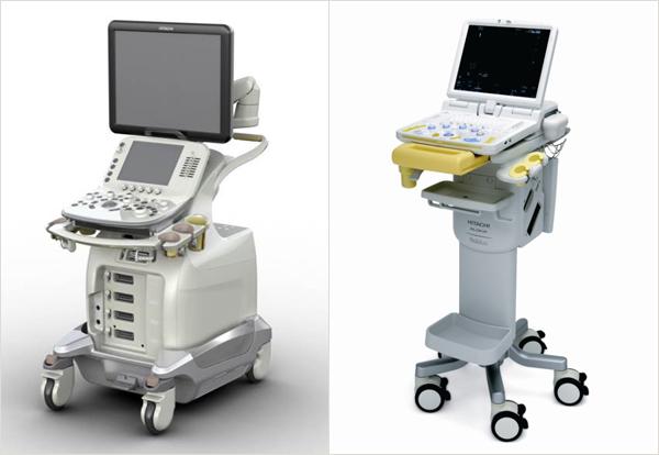 日立アロカメディカル株式会社 超音波診断装置ARIETTA、Noblus