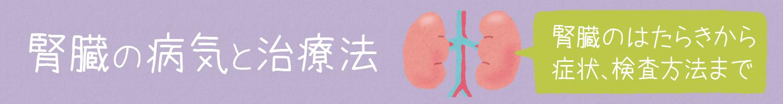 腎臓の病気と治療法(青森県編)