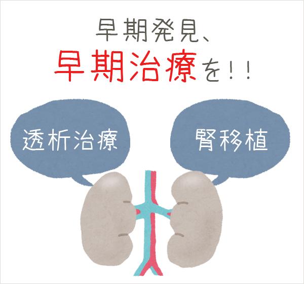 腎臓病について