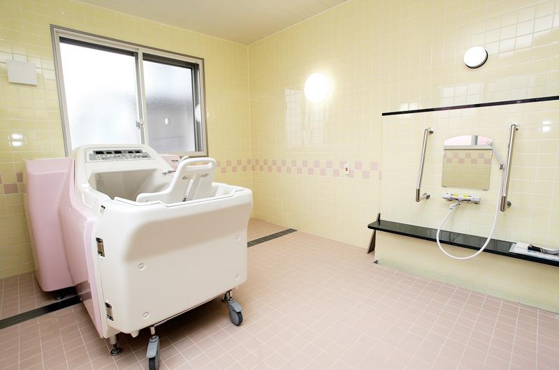住宅型有料老人ホーム北斗桜ヶ丘の浴室